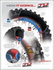 """Gen 2 Motorbike Tubliss Tubeless Tyre Kit  18"""" & 21"""" Tube Less Heavy Duty"""