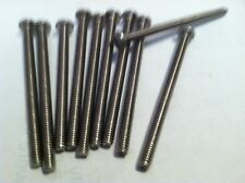 Stainless Steel Screws 8/32 x 2 -1/4 Phillips screw pan heads lots of (10)