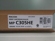 TONER ORIGINAL NEUF RICOH MP C305HE   Black   841618   MPC305HE