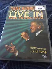 TONY BENNETT'S WONDERFUL WORLD LIVE IN SAN FRANCISCO - DVD