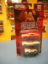 Joy Ride Dukes of Hazzard General Lee 1969 Dodge Charger 1 64 3 Car Set Jeep