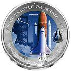 2021 32g Titanium 2 Cedis Ghana 40TH ANNIV OF FIRST SPACE SHUTTLE LAUNCH Coin.