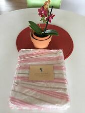 New POTTERY BARN KIDS Megan Rose Percale CRIB BEDSKIRT *Sold Out*