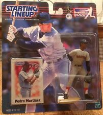 Starting Lineup 2000 MLB Boston Red Sox Pedro Martinez Figurine Baseball Card