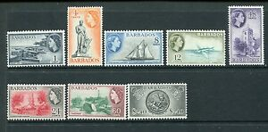 BARBADOS 1964 Definitives QEII MNH Set to $2.40 SG312-319 8 Stamps