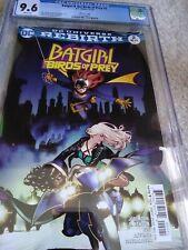 Batgirl and the Birds of Prey #2 cgc 9.6 flawless case Kamome Shirahama variant