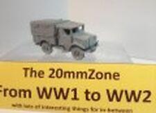 EWM Btruk07 1/76 Diecast WWII Bedford MWD 1500Cwt Closed Cab Radio Truck w Tilt