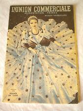 Art deco French Household catalogue 1939 L'union commerciale