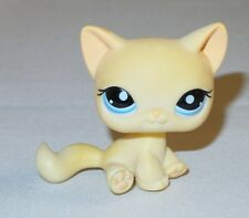 Littlest Pet Shop LPS - #1005 Yellow Cream Short Haired Cat with Blue Eyes