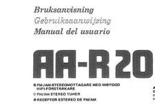 AKAI AA-R20 Ricevitore bruksavisning gebruiksaanwijning manuale del usuario NL DN MI