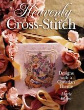 Craft Book Heavenly Cross-Stitch: Designs With a Christian Theme by Marie Barber