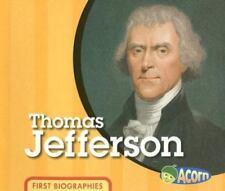 Thomas Jefferson [First Biographies] [ Mayer, Cassie ] Used - VeryGood