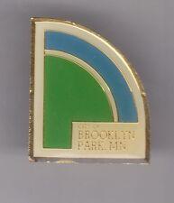 CITY OF BROOKLYN PARK MINNESOTA Enamel Baseball Diamond Pin