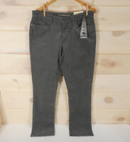 NWT Lands End Womens Sz 10 Straight Leg Mid Rise Gray Corduroy Pants Lighthouse