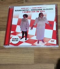 SUSAN BOYLE & GERALDINE MCQUEEN - I KNOW HIM SO WELL 2011 UK Dvd Video PETER KAY