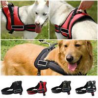 Dog Harness Adjustable Reflective Strong Soft Padded Medium Large Extra Large