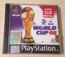 Retro WORLD CUP 1998 Sony PlayStation PS1 Complete Video Game PS2 PSX PS3 PSOne