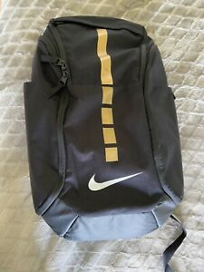 Nike Hoops Elite Pro Basketball Backpack - Black/Gold. $50