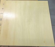 "Lauan prefinished wood veneer plywood sheet 7.75"" x 7.5"" x 3/4"" sample size"