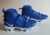 Nike Force Savage 2 Shark NEW AQ7723-400 Blue Football Cleats Youth Size 6