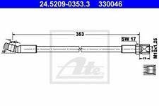 Flexible de frein FIAT 132 132  850 850  850 Coupé 850 Spider 4006633044356