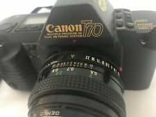 Canon T-70 35mm FD Mount Single Lens Reflex Film Camera Body Only