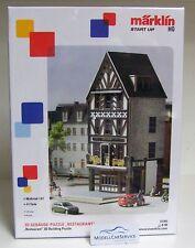 """Märklin start up 1/87 (H0): #72781 3d gebäude-puzzle """"Restaurante"""""""