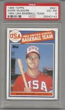 1985 Topps Mark McGwire 1984 USA Baseball Team PSA 4 RC