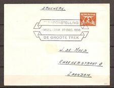 Nederland - 1938 - Brief STEMPEL Tentoonstelling De Groote Trek - WA314