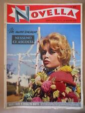 NOVELLA n°21 1958 Brigitte Bardot Martine Carol Alberto Sordi lo scapolo [G745]