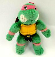 """Vintage 1989 Teenage Mutant Ninja Turtles Raphael Plush 9"""" Playmates Toys"""