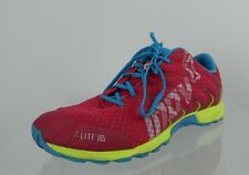 Womens Inov8 F-Lite 195 Precision Shoes Red & Blue Tennis Shoes Size 6.5 M