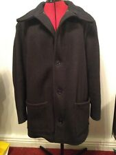 Vintage Black Donkey Jacket XL Good Condition