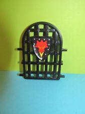 Playmobil Gitterfenster Wappen rot schwarz Fenster Drachenfestung  3269*
