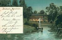 Ansichtskarte Stadtpark Mannheim 1898 (Nr.759)