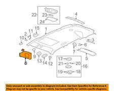 Chevrolet GM OEM 06-11 HHR Sunvisor-Sun Visor Left 25788231
