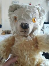 Antique chad valley labelled jointed collectors teddy bear