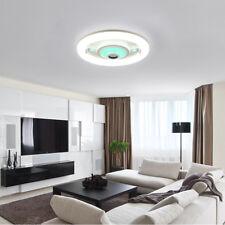 LED RGB Bluetooth Lautsprecher Deckenleuchte Modern 19W Hängelampe Wohnzimmer