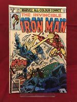 Invincible Iron Man #124 1979 Marvel Comics Demon In A Bottle Part 4