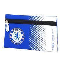 Chelsea FC FADE SCUOLA MATITA Custodia Cover Neoprene PIATTO NUOVO REGALO NATALE