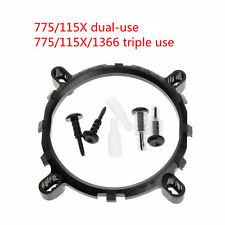 3 in1 CPU Cooler Fan bracket heatsink Holder Base For LGA1150 1156 1155 775 1366