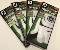 2018 Footjoy Weathersof golf glove 4 double packs (8 gloves) Pick Size,FREE SHIP