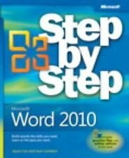 Microsoft Word 2010 Step by Step by Joyce Cox and Joan Lambert (2010, Paperback)