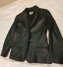 Сonbipel Giacca vera pelle nero Leather Jacket black