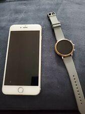 Apple iPhone 6s Plus 32GB  Gold (unlocked) * read description** with smart watch