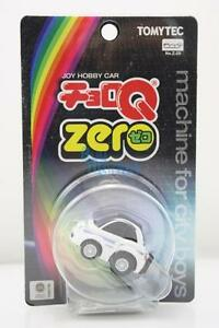Takara Tomy Tomica Tomytech Choro-Q Zero Z-29c Fiat 500C Police Diecast Toy Car