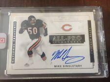 Mike Singletary 2017 National Treasures On Card Auto **3/7** HOF Encased
