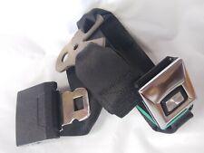 4636471 CHEROKEE COMANCHE WAGONEER Rear Seat Belts Inner Black OEM 1985-1987