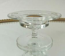 Ichendorf Glas Kerzenhalter Teelicht Leuchter Kristall Glas 80er Jahre Design