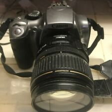 Canon EOS Digital Rebel camera package 2 lens with bag